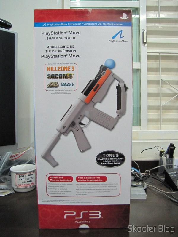 Caixa da Playstation Move Sharp Shooter