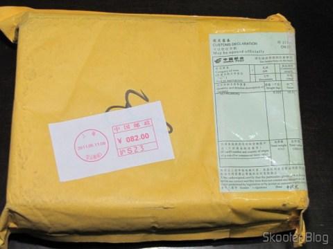 Pacote da DealExtreme com o Dongle de Rede Sem Fio WiFi USB 2.0 300Mbps 802.11n/g/b de Alta Potência
