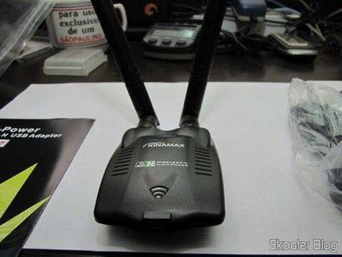 Dongle de Rede Sem Fio WiFi USB 2.0 300Mbps 802.11n/g/b de Alta Potência