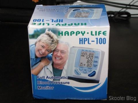 Embalagem do Monitor de Pressão Arterial Digital