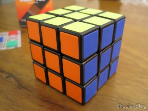 Cubo Mágico de Alta Qualidade e Velocidade 3x3x3, solucionado