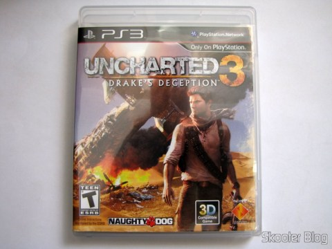 Caixa do Uncharted 3: Drake's Deception (PS3)