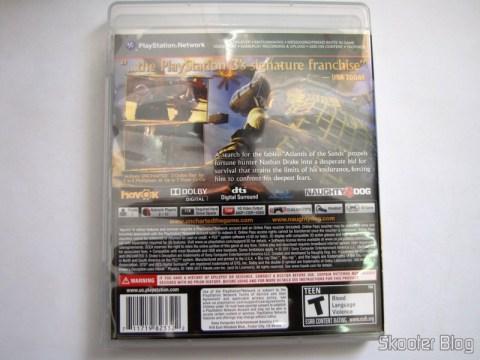 Caixa do Uncharted 3: Drake's Deception (PS3)