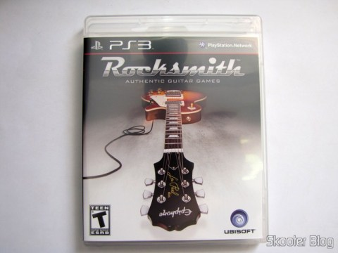 Caixa do blu-ray de Rocksmith (PS3)