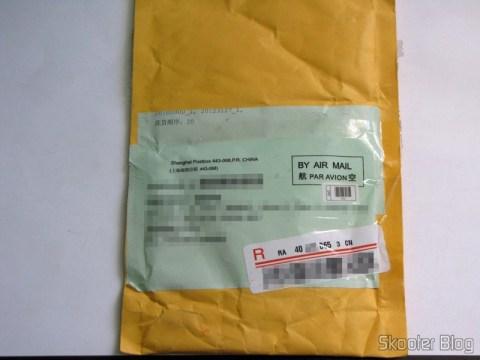 Pacote da DealExtreme com o Cabo Carregador USB Nokia CA-100 genuíno com 150cm