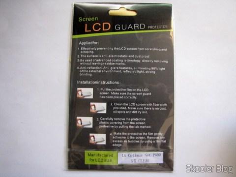Películas Protetoras para a Tela LCD do LG Optimus Net P690 / P698