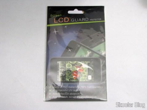 Segundo pacote de Películas Protetoras para a Tela LCD do LG Optimus Net P690 / P698