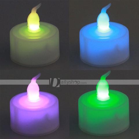 Velas decorativas com luz de LED