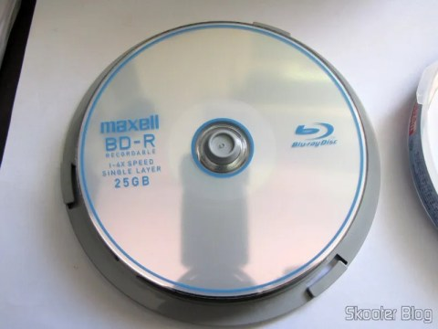 Disco Blu-Ray BD-R 25GB Maxell