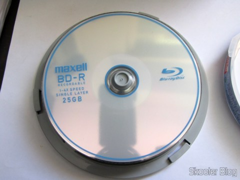 Disco Blu-Ray BD-R 25GB Maxell
