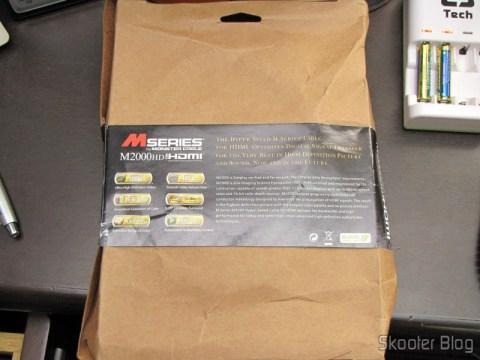 Embalagem do Cabo HDMI v1.4 1080p blindado com 2,4 metros