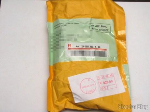 Pacote da DX com as Lanternas LED Branco 350-Lumen 1-Modo UniqueFire G10 CREE XP-G R5 com Pulseira, bateria 14500 ou AA