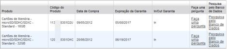 Teste do número de série e garantia do Cartão Micro SDHC TF 16GB Sandisk Genuíno no site da Sandisk