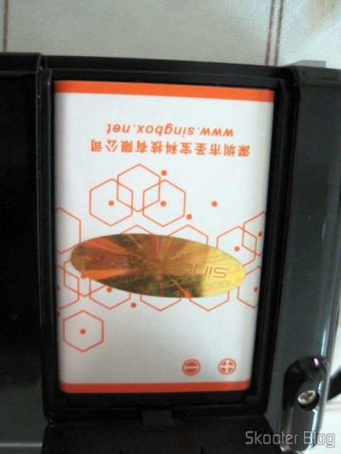 """Bateria do Rádio Portátil e MP3 Player Singbox SV922 com FM, USB, TF, SD, Alto-Falante, LCD de 1.5"""" (SINGBOX SV922 1.5"""" LCD MP3 Player Speaker w/ FM / USB / TF - Black)"""