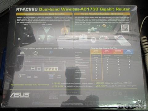 Box Wireless Router Gigabit 1300Mbps ASUS RT-AC66U (ASUS RT-AC66U 1300 Mbps Gigabit Wireless Router)