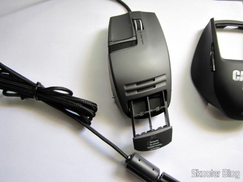 Compartment weights Mouse Logitech G9x - Edição Call of Duty: Modern Warfare 3 (New Logitech G9X Gaming Mouse Call of Duty: MW3 Edition)