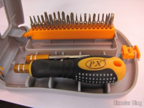 Joint Professional 21 em 1 Key Precision Slit (21 in 1 Professiinal Precision Screwdriver Set)