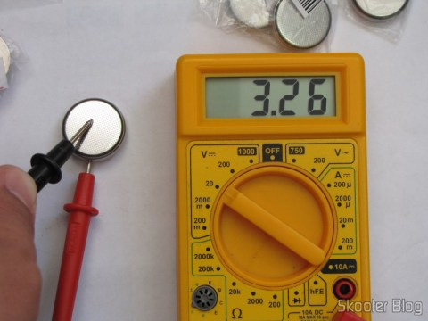 Test of Lithium Batteries CR2450 3V (CR2450 3V Cell Battery) no multimeter