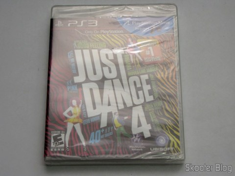 Just Dance 4 (PS3), still sealed