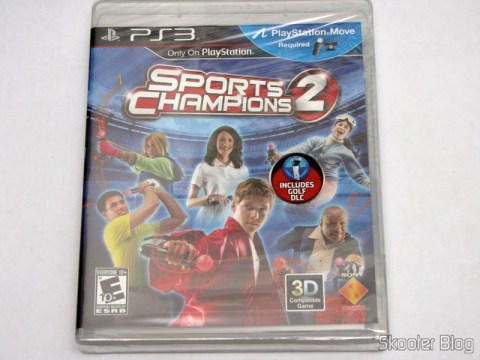 Sports Champions 2 (PS3), ainda lacrado