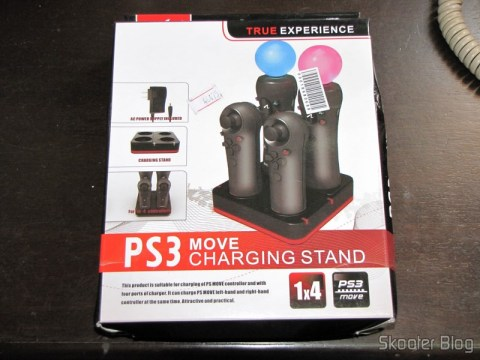 Quadruple Charging Station for Playstation Move Playstation Controls 3 (Quadruple Port Charging Station for PlayStation 3 Move Controllers – Black) in your mailbox