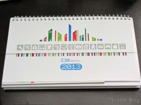 Desktop Calendar with Coupons for Discount 12 Months DX 2013 (DX 2013 Desk Calendar with 12 Months' Coupon Codes)