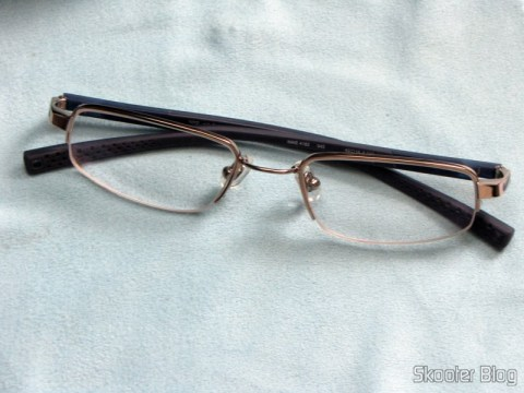 First pair of glasses degree Nike Flexon 4182 045 com slow Essilor Transitions 1.67