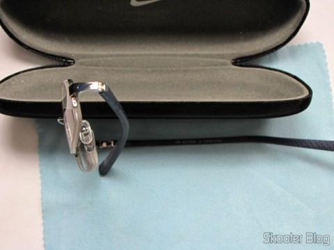 Primeiro par de Óculos de grau Nike Flexon 4182 045 com lentes Essilor Transitions 1.67