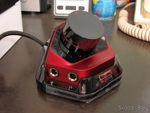 Módulo de controle da Creative Sound Blaster ZX SBX PCIE Gaming Sound Card with Audio Control Module SB1506