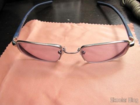 Segundo par de Óculos de grau Nike Flexon 4182 045 com lentes Essilor Transitions 1.67: com as lentes Transitions ativadas