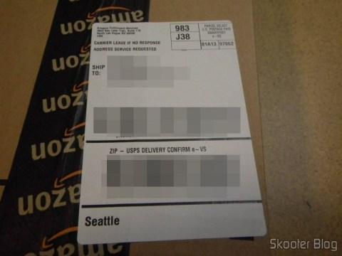 Foto do Pacote Creative Sound Blaster ZX SBX PCIE Gaming Sound Card with Audio Control Module SB1506 enviada pela Shipito