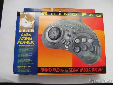 Controller 6 Botões ASCII 'Rhino' Mega Drive (Mega Drive ASCII 'Rhino' 6 button controller) in your mailbox