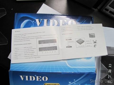 Video Converter Manual SCART + HDMI to HDMI (SCART + HDMI to HDMI Video Converter – Black)