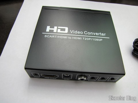 Conversor de Video de SCART + HDMI para HDMI (SCART + HDMI to HDMI Video Converter – Black)