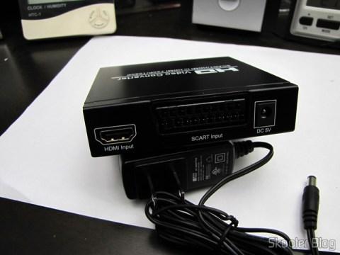 Rear Video Converter SCART + HDMI to HDMI (SCART + HDMI to HDMI Video Converter – Black)