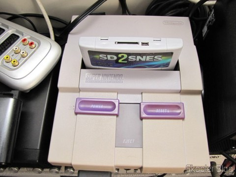 SD2SNES - Flash Cart para o Super Nintendo no meu Super Nintendo