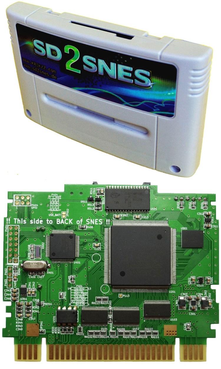 SD2SNES - O melhor Flash Cart para o Super Nintendo