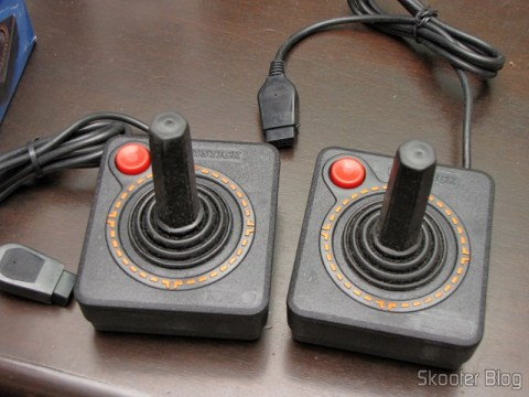 Joysticks the Atari 2600 New (New 2x Atari 2600 Joystick Controllers / 30 day Warranty OEM)