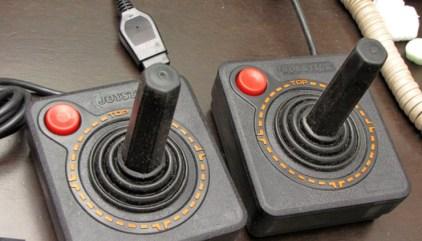 eBay: Adapter to connect two joysticks Atari 2600 the PC via