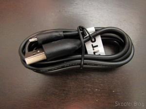 Cabo de Dados / Carga USB macho para Micro USB macho com 122cm (USB Male to Micro USB Male Charging/Data Cable – Black (122CM-Length))