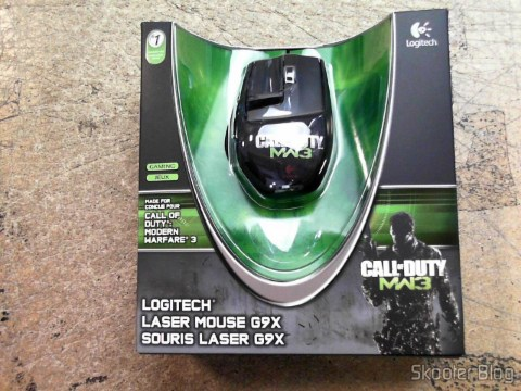 Photo Shipito: Mouse Logitech G9X Edição Call of Duty: MW3
