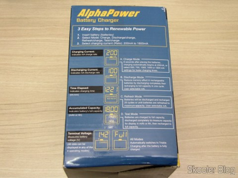Battery Charger Packing La Crosse technoly Alpha Power BC1000 (La Crosse Technology Alpha Power Battery Charger, BC1000)