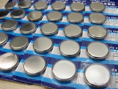 3 Pacotes com 10 Baterias Botão de Lítio 3V CR2450 (CR2450 3V Lithium Cell Button Battery (10-Pieces Pack))