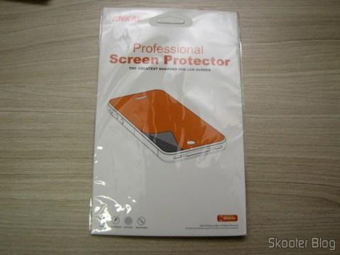 Surge Film Cloth for Samsung Galaxy Grand Duos / i9082 ENKAY Transparente (ENKAY Screen Guard Protector for Samsung Galaxy Grand Duos / i9082 - Transparent) on its packaging