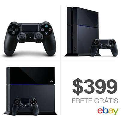 Playstation 4 - US$ 399,00 with Free Shipping