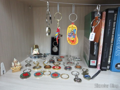 Part of my collection of keychains