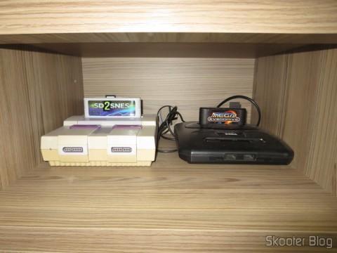 Super Nintendo e Mega Drive III