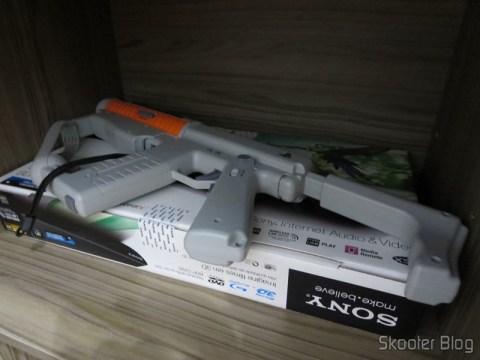 Playstation Move Sharp Shooter (PS3) - Também já avaliada no Skooter Blog