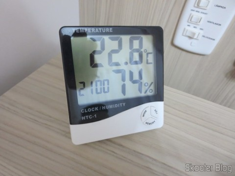 Clock-Thermometer-Hygrometer Digital (LCD Digital Clock Thermometer and Humidity Meter) - Have you seen the Skooter Blog