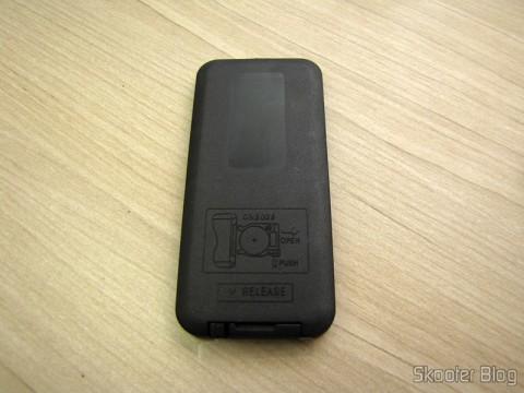 Controle Remoto do Hardware Decodificador MP3  c/ FM, Controle Remoto, USB, Mini USB e Slot SD (MP3 Hardware Decoder w/ FM/Remote Controller/USB/Mini USB/SD Slot – Black (5V))